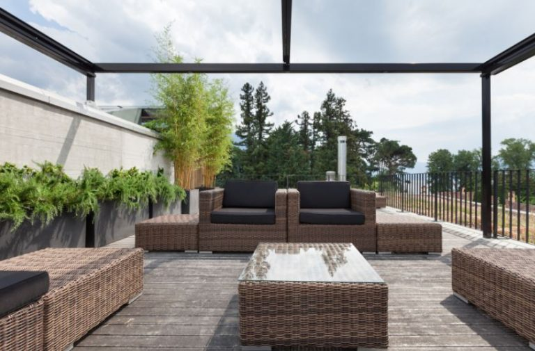 The best way to clean patio furniture.